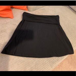 Black cotton Old Navy skirt